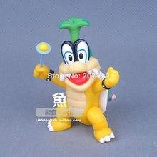 12 cm jeu Super Mario Koopalings Bowser Iggy Hop figurine jouets, 1 pcs/paquet
