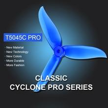 DALPROP T5045C Pro 5045 hélices à 3 pales équilibrage dynamique haut de gamme 5 pouces accessoires CW CCW pour les pièces daccessoires de Drone de course