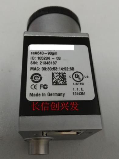 Câmera de Rede Marca Nova Gigabit Industrial Aca640-90gm