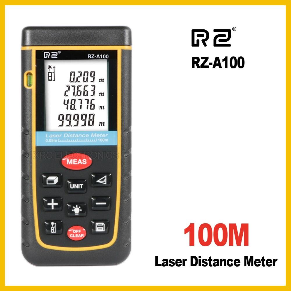 RZ-A medidor de distância a laser rangefinder range finder 40m 60m 80m 100m régua eletrônica digital fita métrica área volume ferramenta