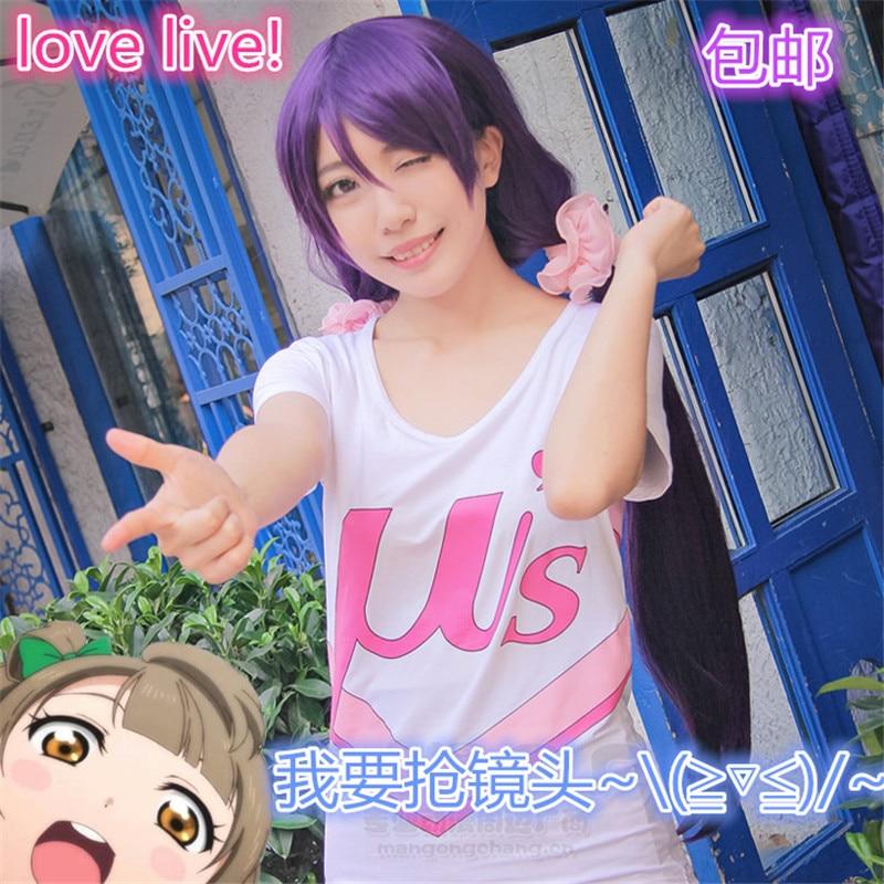 3 Projeto Anime LoveLive! traje escola idol mulheres verão tops tees camisetas amor ao vivo