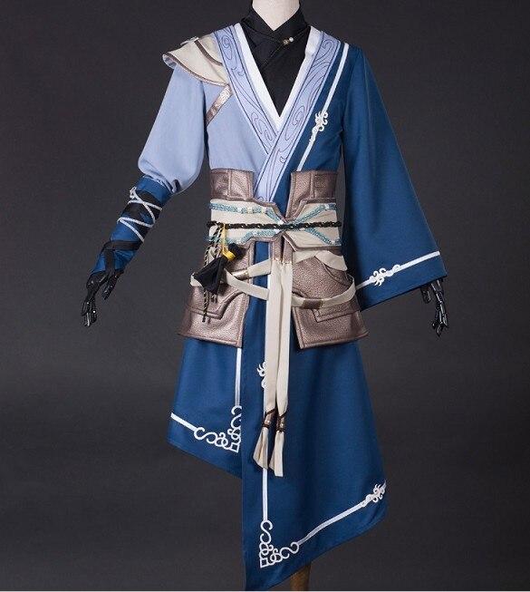 Fairy Sword 6 Yue Jin Zhao, disfraz de Anime para hombre, Hanfu, conjunto completo para hombre, envío gratis por DHL