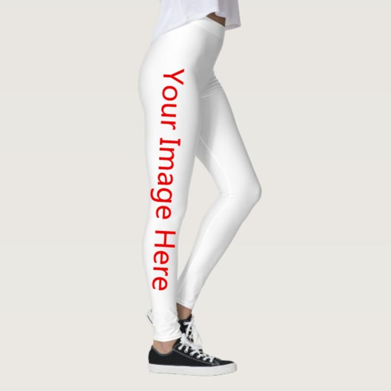 Mallas suaves de calidad con personalidad y estampado en 3D para mujer, mallas personalizadas con efecto Push Up, pantalones elásticos ajustados con diseño divertido, DropShipping