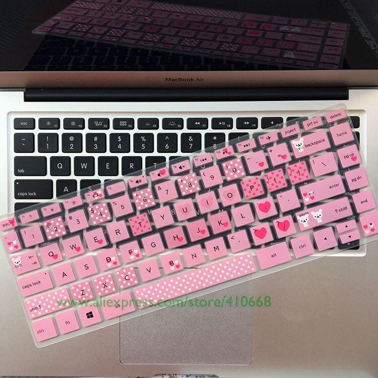 Силиконовый защитный чехол для клавиатуры HP Pavilion x360 14 дюймов 14M-BA011DX 14M-BA013DX X 360 2-в-1 с сенсорным экраном для ноутбука