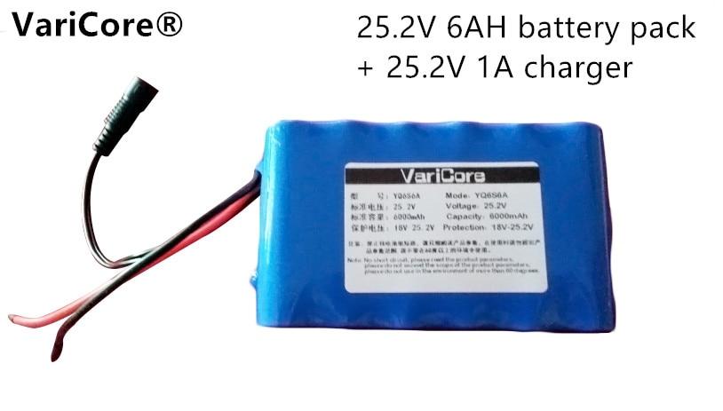 24V 6ah 6s3p 18650 batería 25,2 V batería de litio coche eléctrico batería/ciclomotor 420 alta capacidad