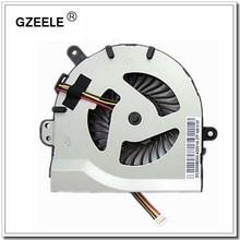 Ventilador de refrigeración para ordenador portátil GZEELE para Lenovo S300 S400 S405 S410 S415 S435 Series para portátil de reemplazo, enfriador nuevo de 4 líneas plateado
