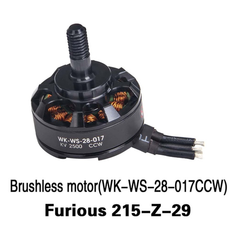 Walkera Original furioso 215 Drone Quadcopter sin escobillas motor CCW (WK-WS-28-017 furioso 215-Z-29
