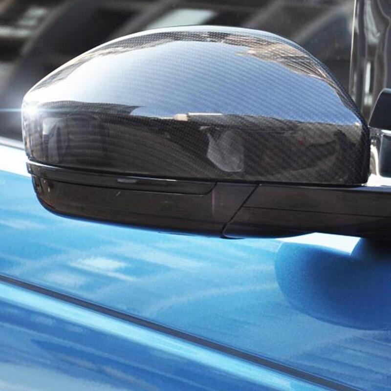 Accesorios de coche para Jaguar F-PACE fpace estilo 2016 de 2017, 2018 ABS cromo espejo retrovisor de coche cubierta cubre Trim