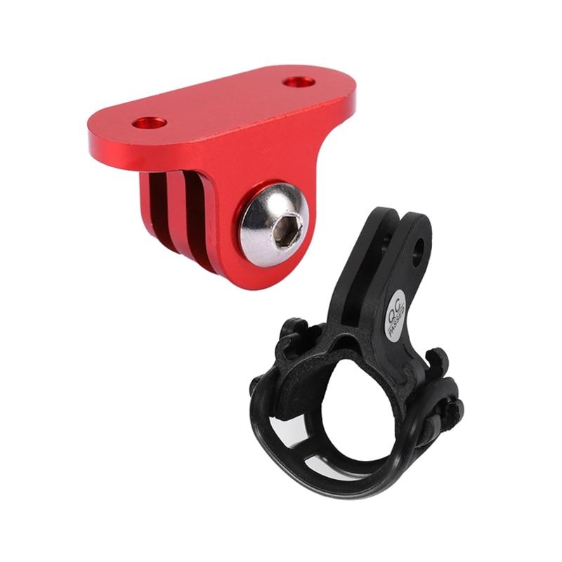 Bike Bicycle Computer GoPro Mount Holder with Flash Light Holder for iGPSPORT Garmin Bryton Bryton Camera Adapter