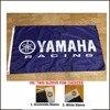 3x5ft yamaha pod banderą tego państwa członkowskiego, motocykl logo flaga flagi dekoracji banner 100D gry wyścigi samochodowe