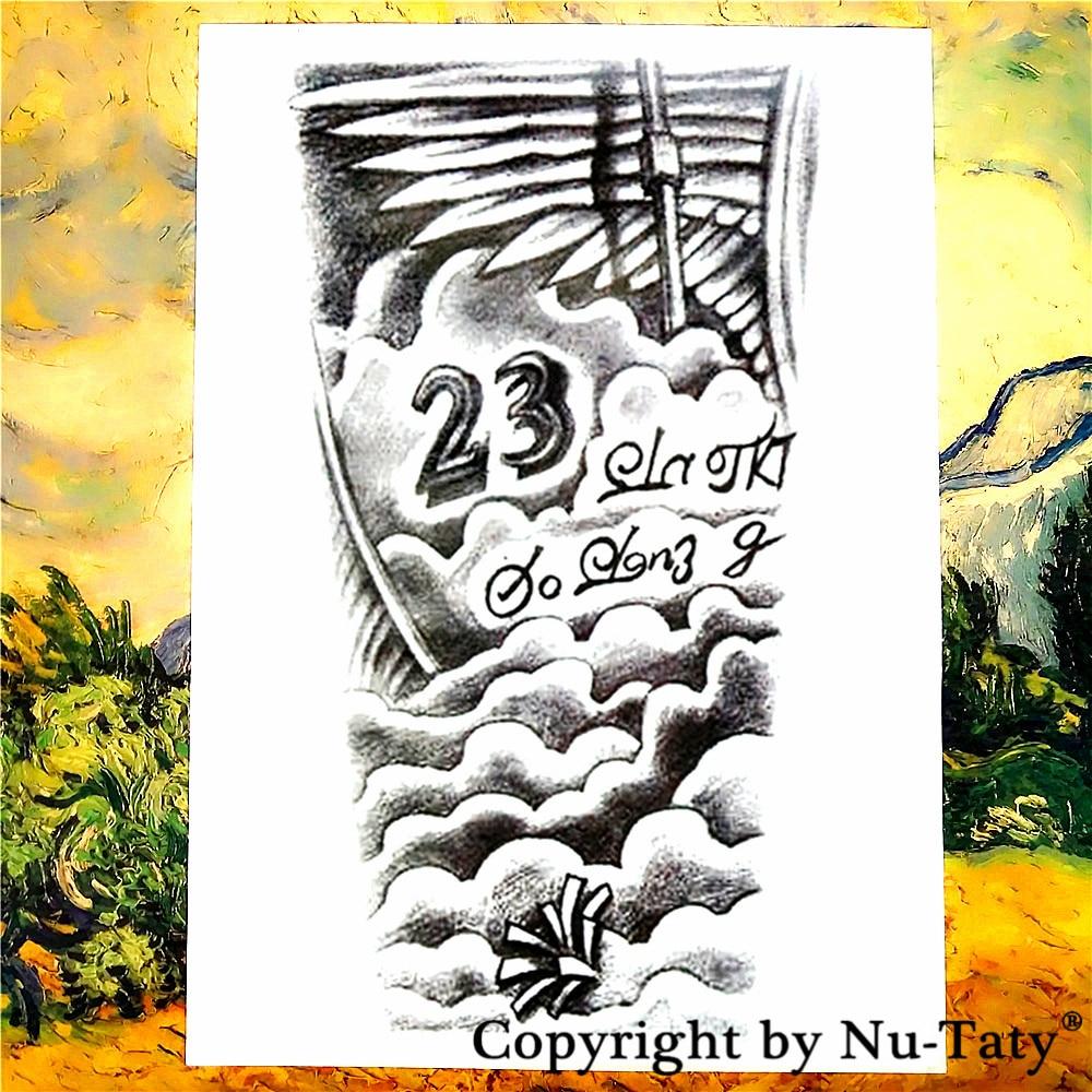 SHNAPIGN Forever 23 Temporary Tattoo Body Art Flash Tattoo Stickers 21*15cm Waterproof Tatoo Car Styling Home Decor Wall Sticker