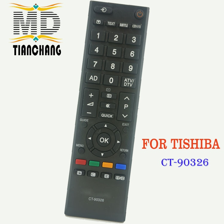New Replacement Remote Control CT-90326 For TOSHIBA 3D SMART TV CT90326 CT-90380 CT-90386 CT-90336 CT-90351