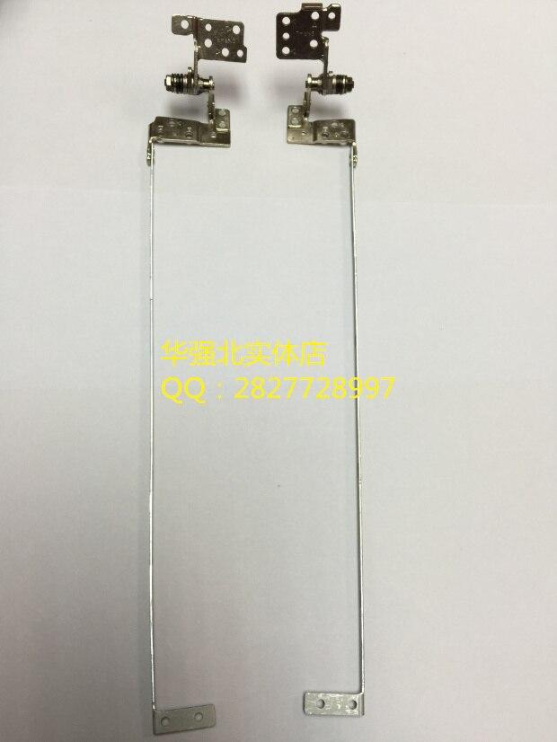 Nueva bisagra LCD para ASUS X550T X550DP K550 K550D K550DP Notebook pantalla LCD bisagras izquierda y derecha juego de soportes de acero