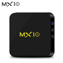 TV Box MX10 Smart Android 9,0 TV Box RK3328 4K box Android HDR10 USB 3,0 DLNA Miracast WiFi LAN HD Media Player TV Box