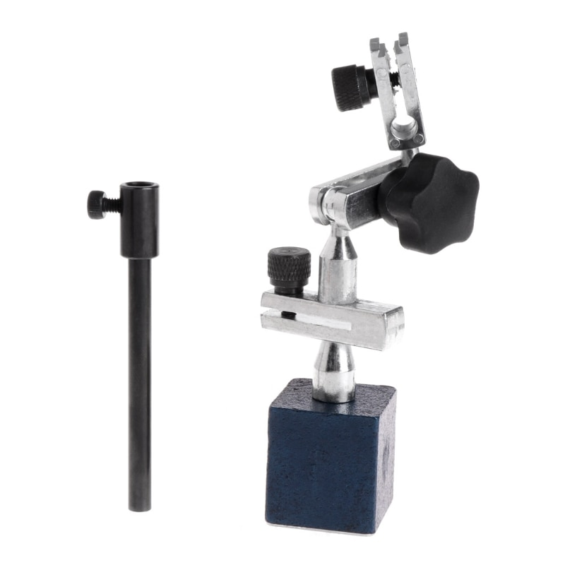 Indicador de prueba de Dial de nivel de altura de 215mm soporte magnético giratorio soporte Base