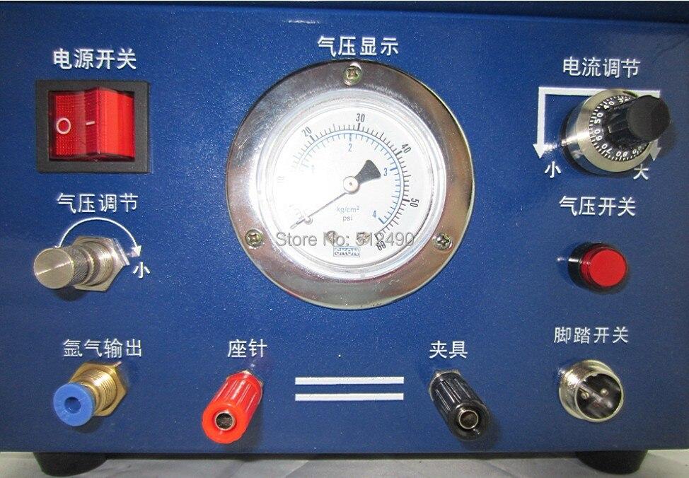 آلة صنع العنق ، آلة لحام الأرجون الصغيرة ، لحام المجوهرات اللامعة ، آلة لحام الذهب عيار 220 فولت مع 1 قطب كهربائي