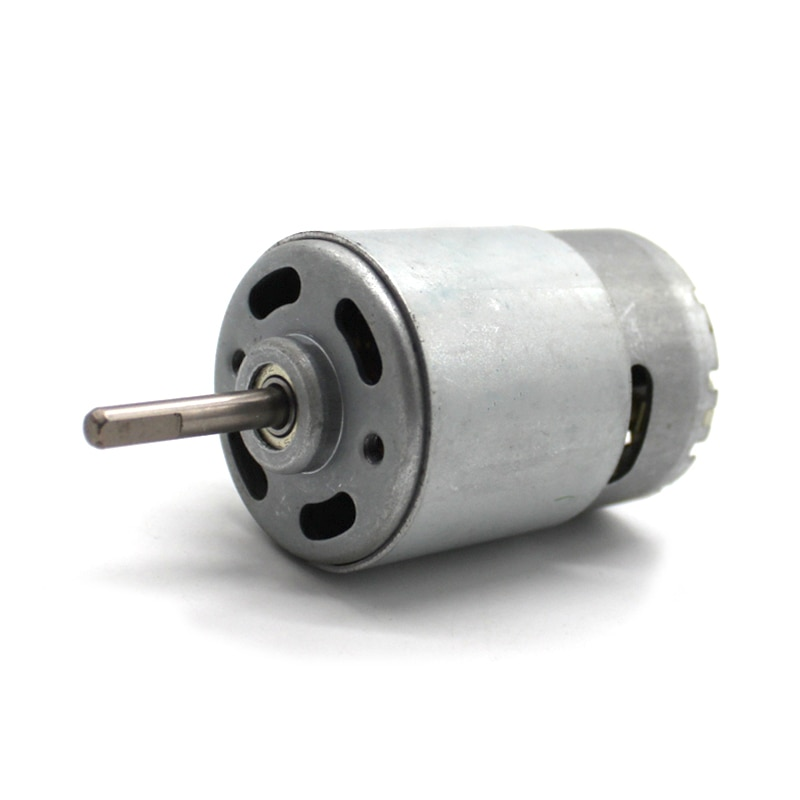 D-eixo 755 modelo de motor de brinquedo acessórios do carro micro dc carrinho de criança motor alto torque diy motor