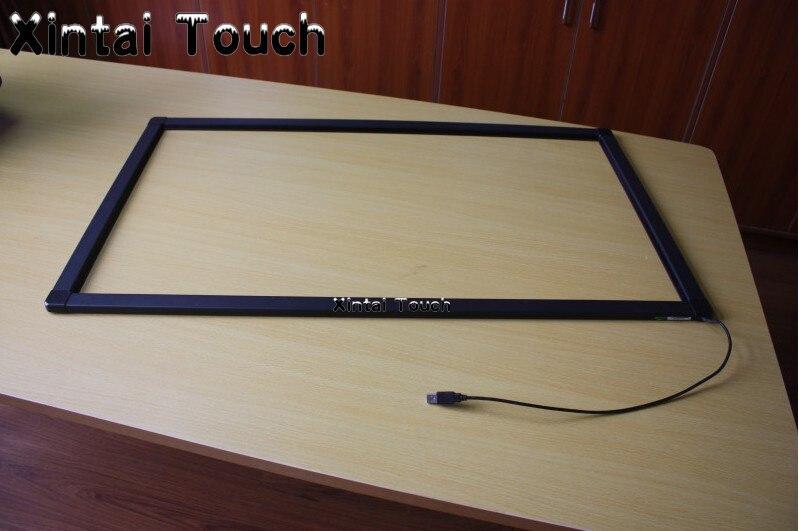 """Xintai táctil barato IR 70 """"2 puntos de infrarrojos USB Multi MARCO DE PANTALLA TÁCTIL PARA Monitor LED"""
