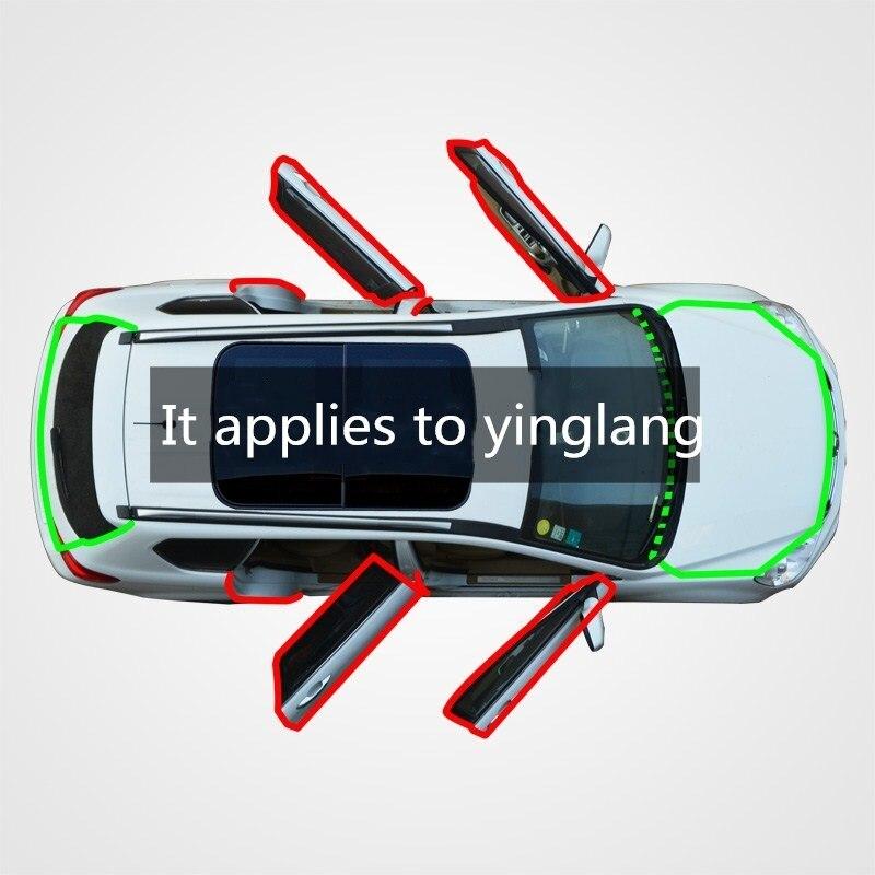 Para el buick yinglong, costura de sellado de coche a prueba de polvo, aislamiento acústico de colisión feng shui retroequipado con caucho modificado seali