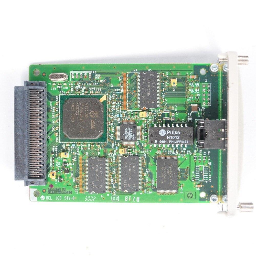 Tarjeta de red JETDIRECT 615N J6057A Ethernet rápido para impresora HP Server RJ-45 10/100TX envío gratis