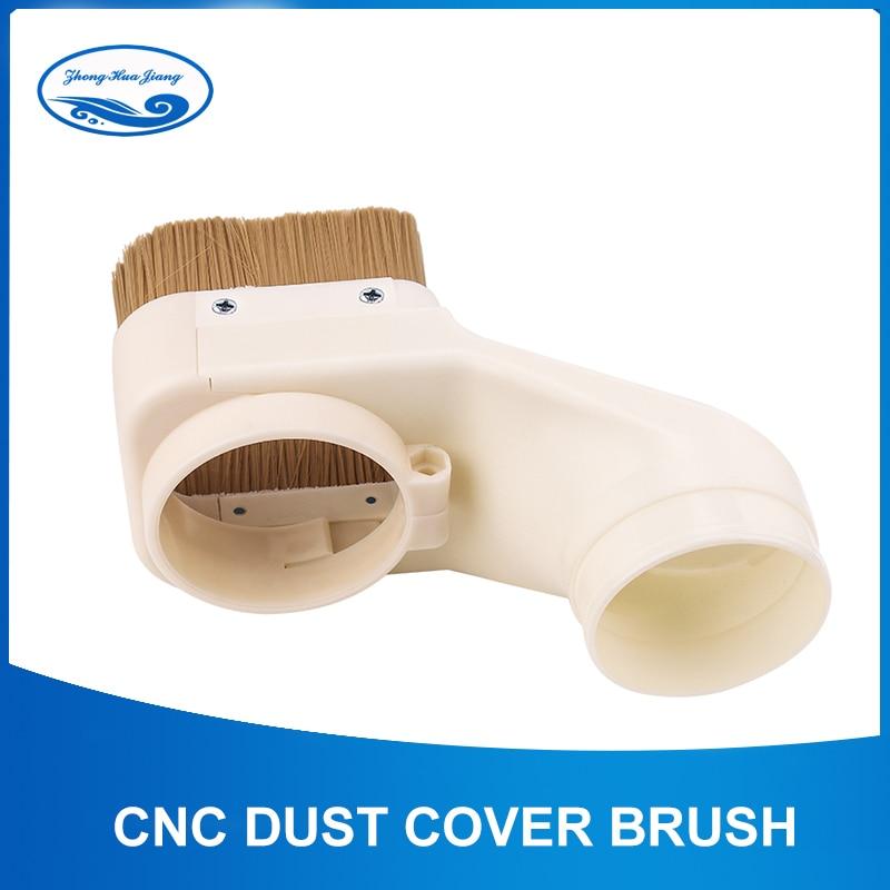 70mm/75mm/85mm/90mm/100mm CNC cubierta de polvo diámetro de la brocha limpiador fácil de limpiar para fresadora CNC