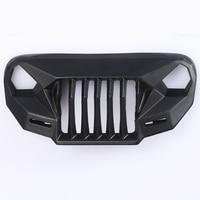 MS Anger Front Face Grating For 1/10 RC Crawler Car TRX4 Axial Scx10 JK Wrangler SEMA