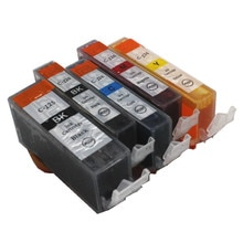 5 pièces livraison gratuite PGI 125BK CLI 126 BK C M Y 5 cartouche dencre couleur pour canon PIXMA IP4810/IP4910/IX6510/MG5210/MG5310 imprimante