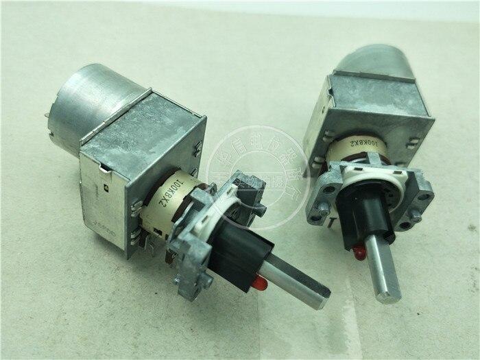 1 unids/lote Original Japón ALPS RK16312MCL1TA doble con luz con potenciómetro de motor de control remoto B100K 6 pies