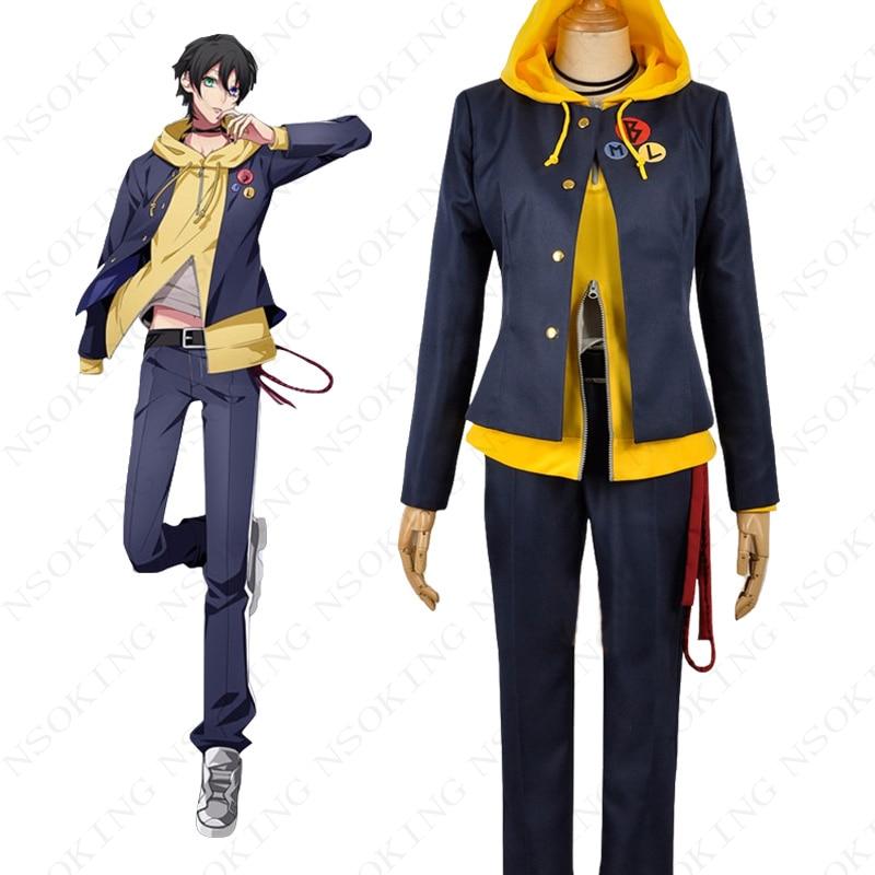 Anime Division Rap bataille Buster Bros Saburo Yamada Cosplay Costume sur mesure