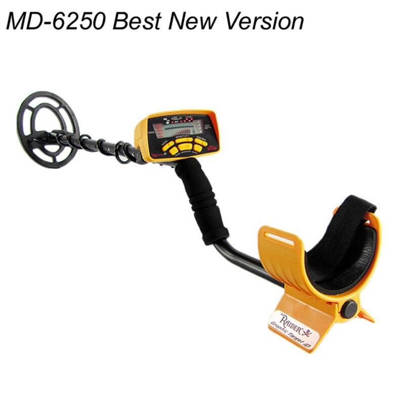 Professional Metal Detector MD-6250,Underground Metal Gold Treasure Detecor Searching Tool 6250