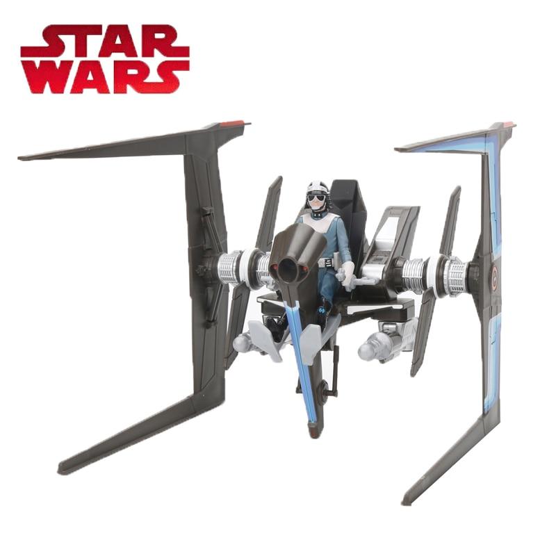 Juguete de star wars E8 serie fuerza Canto Bight policía Speeder de PVC colección de figuras de acción juguetes de modelos de muñecas