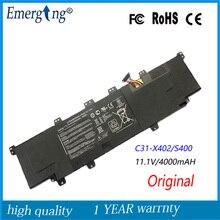 11.1 V 44WH Nouveau Original Authentique batterie dordinateur portable pour asus VivoBook S300 S400 S400C S400CA S400E C31-X402