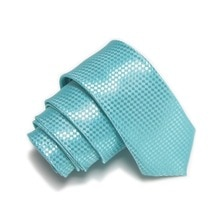 HOOYI cravate pour hommes   Collier Slim, mode cravate, bleu Turquoise, cravate pour fête Gravata