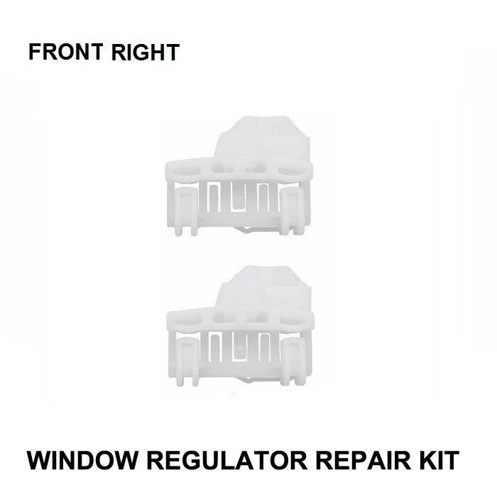 KIT de reparación de ventanas para VW PASSAT KIT de reparación de regulador de ventanilla frontal-derecha nuevo