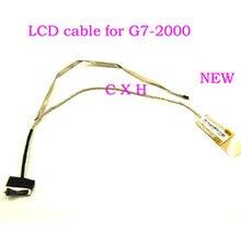 Nowy ekran wideo LCD kabel do HP G7-2000 G7-2040sf laptopa LCD LVDS kabel ekranu DD0R39LC000 DD0R39LC050