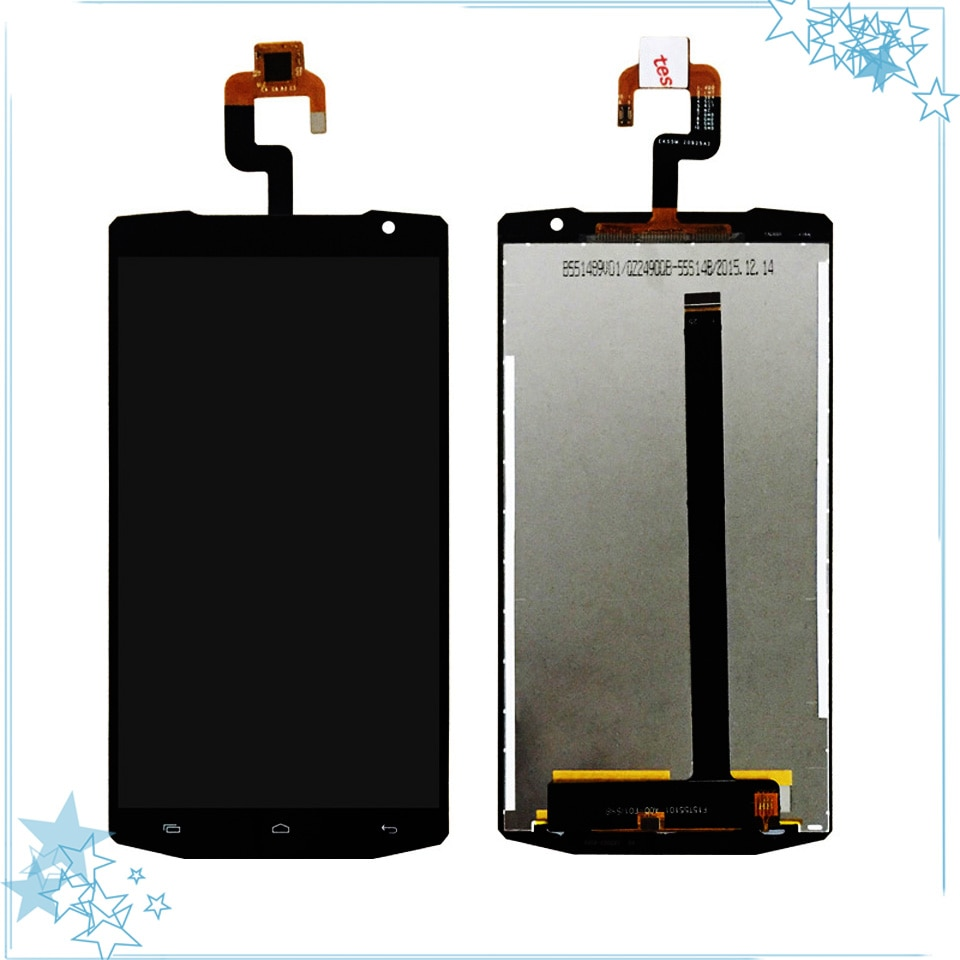 5,5 pulgadas para Oukitel K10000 pantalla LCD y pantalla táctil digitalizador montaje reemplazo