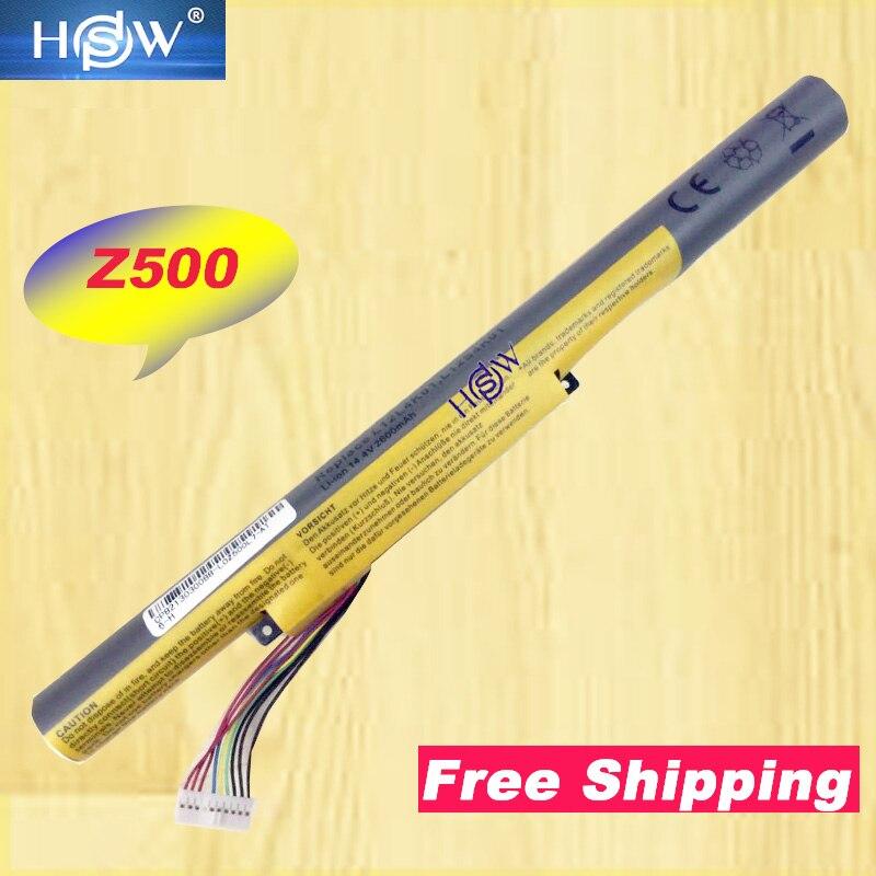 HSW batería para portátil LENOVO para Ideapad Z400 Z400S Z400A Z400T Z510 Z510A Z500 Z500A L12S4K01 L12L4K01 envío gratis