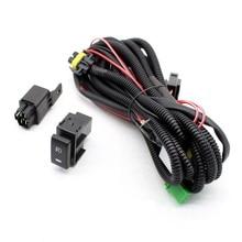 Kabelbaum Steckdosen Draht + Schalter mit led-anzeigen für Nebel Licht Lampe für Nissan Sentra für Nissan Sunny für nissan Tsuru