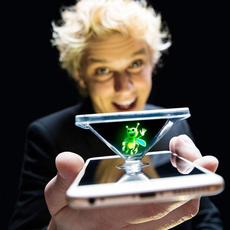 Light burst honeybee magic lantern new toy magic finger prop lamp 3D hologram projection toy party performance Magic Light
