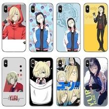 anime YURI on ICE Yuri Plisetsky tpu soft case For Samsung Galaxy A10 A30 A40 A50 A60 A70 Huawei P30 lite pro P Smart Y6 2019