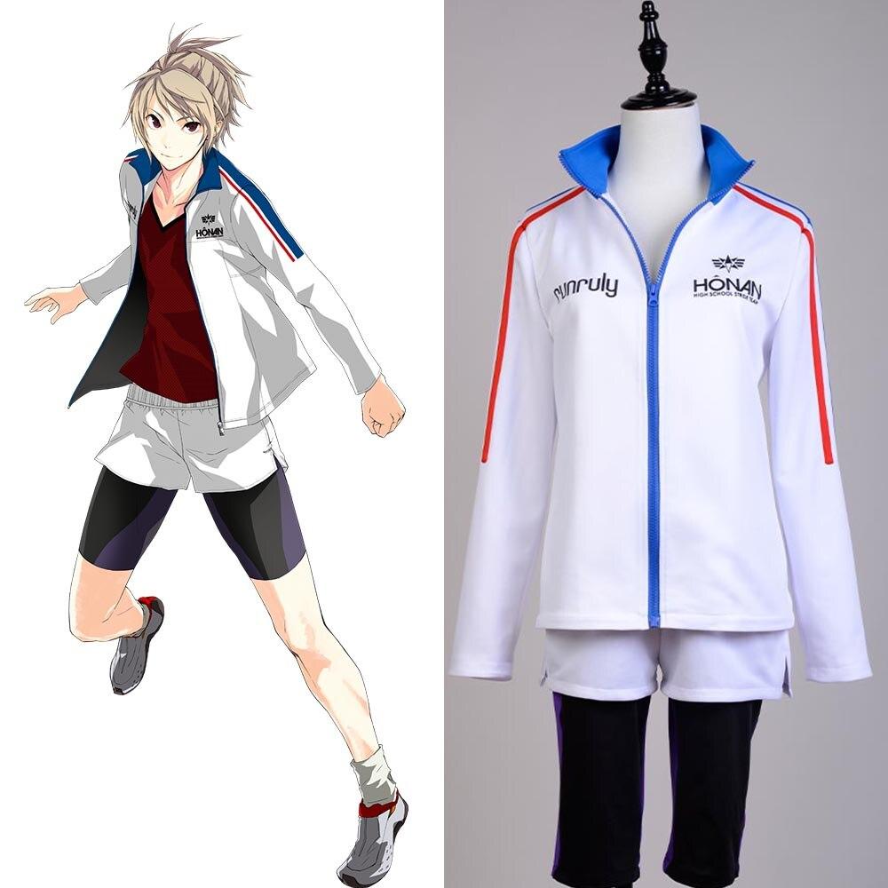 Prince of Stride, Academia Honan, Riku Yagami, ropa deportiva, chaqueta, pantalones cortos, traje de Cosplay para niño, niña, conjunto completo de talla grande
