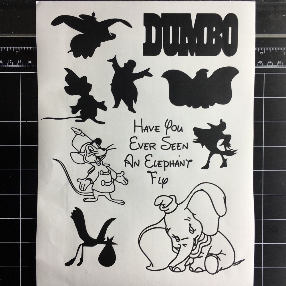 Hot Sale Animals Elephant Home Decor Wall Decal Vinyl Cars Mobile Phones Stickers Nursery Kids Decor Sticker L139