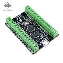 Atmega328P Nano 3.0 CH340 USB Driver + Terminal adaptateur carte dextension 2 en 1 pour Arduino