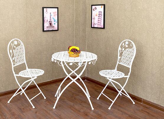 Современные и контрактные, кованые балконные стулья и столы