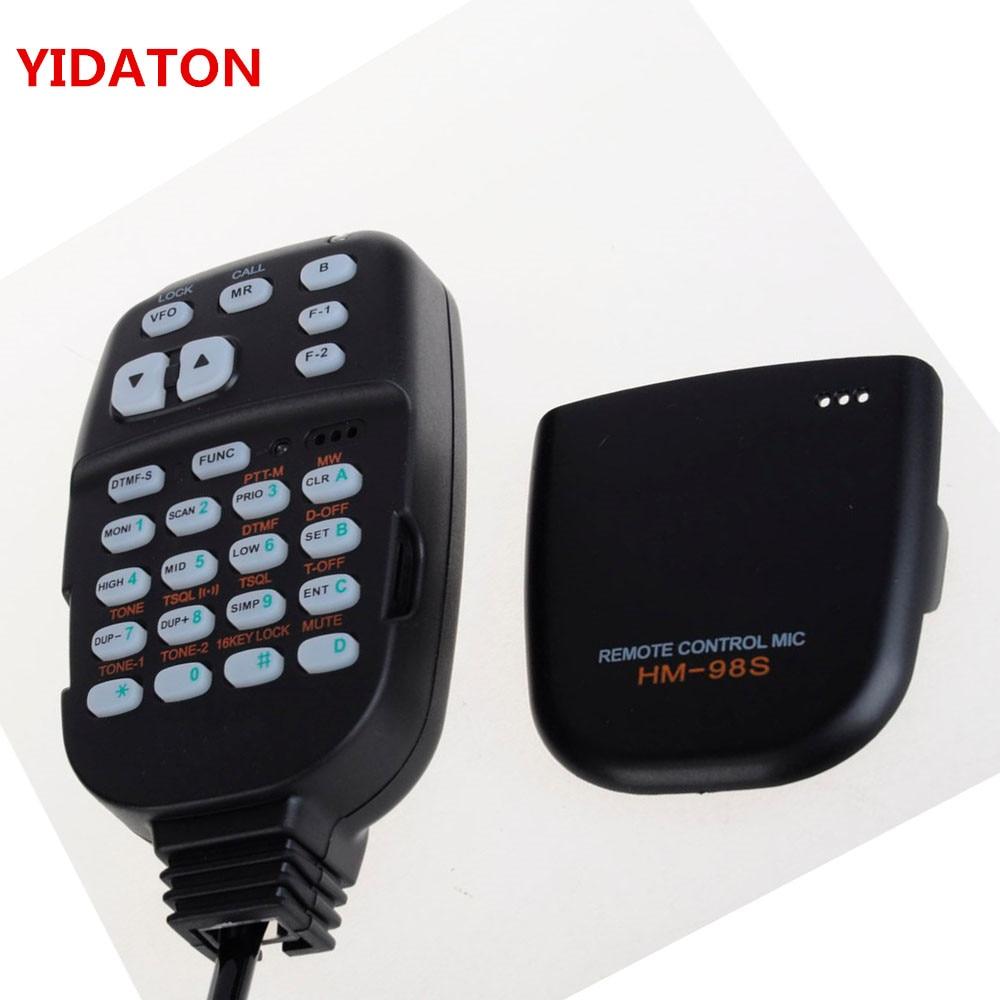 HM-98S para IC-2100H IC-2200H para Radio profesional DTMF Control remoto micrófono IC-2710H IC-2800H Walkie Talkie