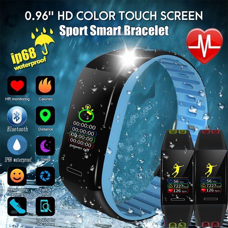 Promoción-Reloj de pulsera inteligente T30, monitor de ritmo cardíaco, Bluetooth, Modo deportivo, rastreador de actividad, reloj, podómetro de sueño Waterpro