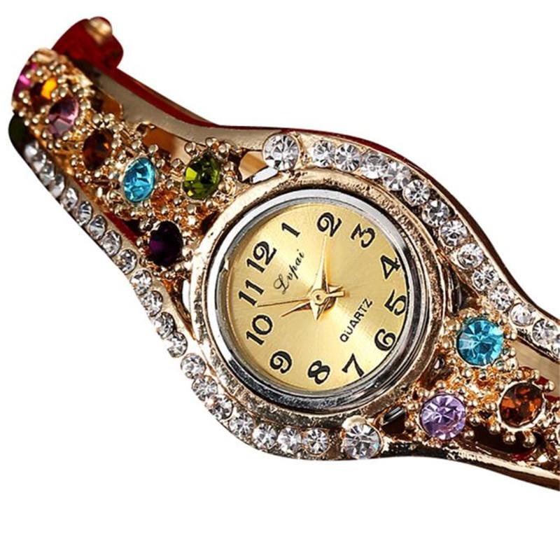 ¡Gran oferta 2019! Relojes LVPAI de lujo para mujer, reloj de pulsera para mujer