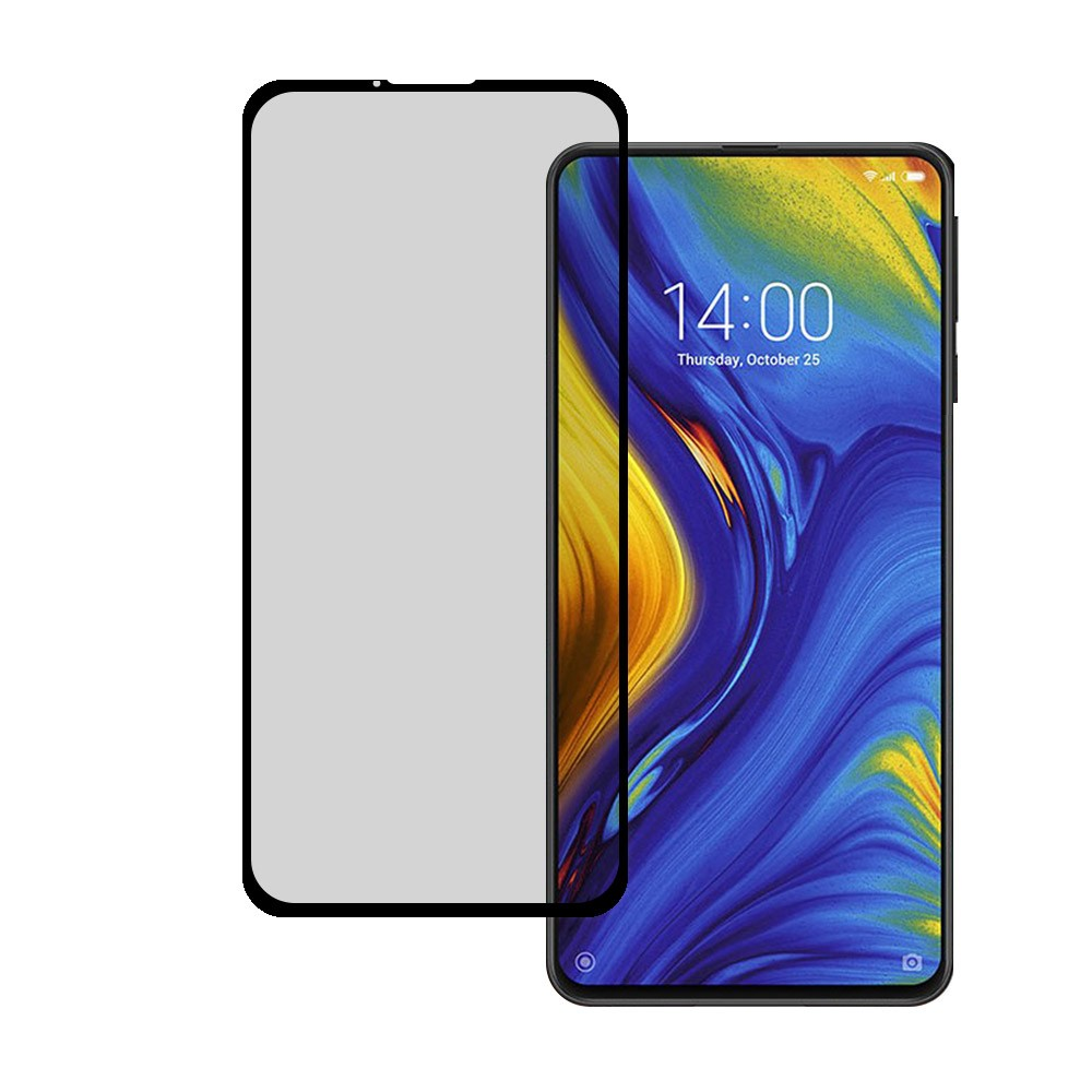 Cristal Templado para Xiaomi Mi Mix 3 Cristal Completo Negro