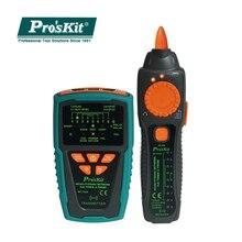 Proskit MT-7029-C réseau Audio anti-parasitage POE contrôle ligne testeur de câble réseau pour traqueur de détecteur de ligne téléphonique filaire