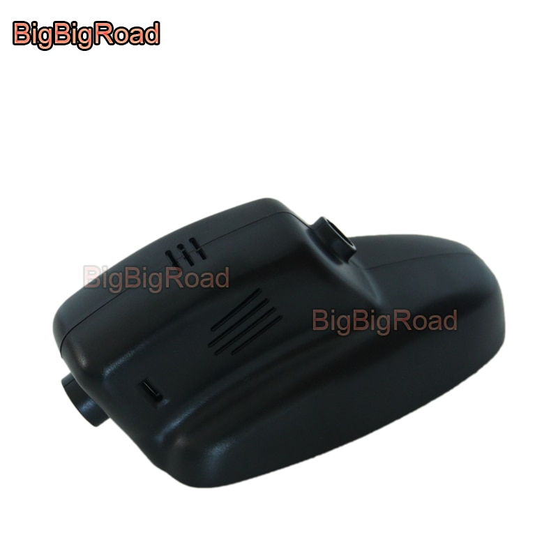 Bigbigroad DVR para automóvil Wifi grabador de vídeo Dash Cam cámara para Jaguar XJ XF 2005, 2008, 2009, 2010, 2011, 2012, 2013, 2014, 2015